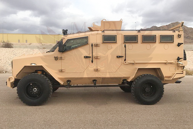 Armoured Personnel Carrier Kenya - panthera-f550