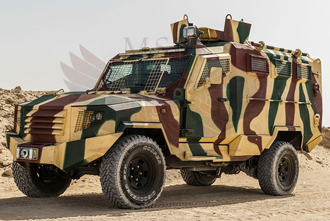 Armoured Personnel Carrier Kenya - panthera-t6-3dr