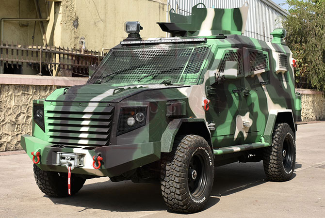 Armoured Personnel Carrier Kenya - Panthera T6F